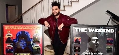 The Weeknd: RIAA Starboy
